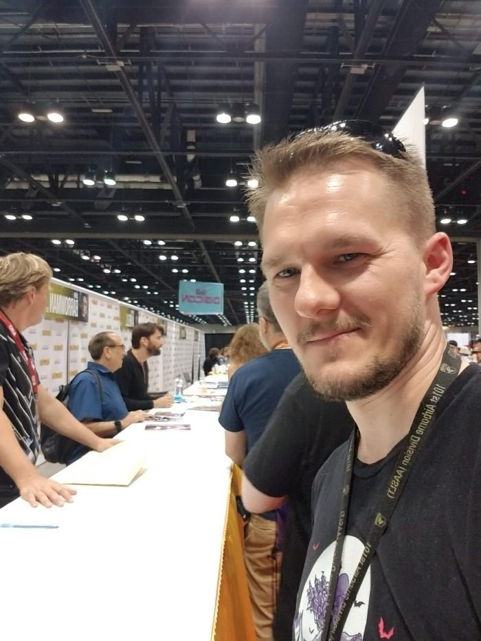 Meeting David Tennant